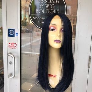 Accessories - Wig blue black wig sale Long thick silky 2019 Wig